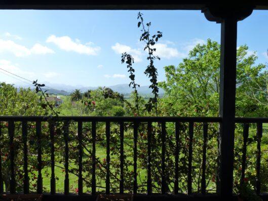 Casa Setien: balcón dormitorio principal